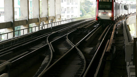 Kuala Lumpur Malaysia Train Express 4k Footage