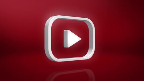 Youtube Icon Motion Background Animation