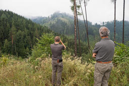 Two forest rangers Foto