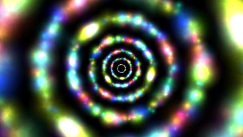 Rainbow flash ring Animación