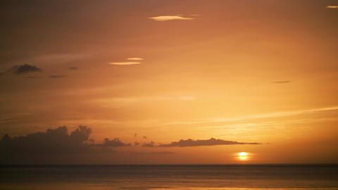 Sunset on the Ocean Footage