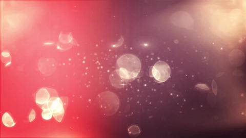 Falling Bokeh Particles Hypnotic Abstract Animation of White and Yellow Lights G Footage