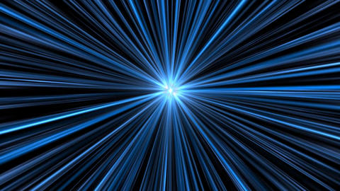 Speed Inside a Blue Space Tunnel Vortex Background Backdrop Animation Animation