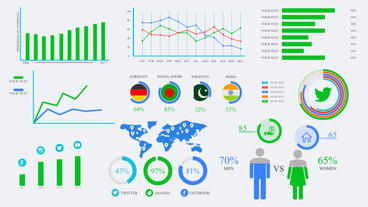 Ultimate Infography Pack After Effects Templates