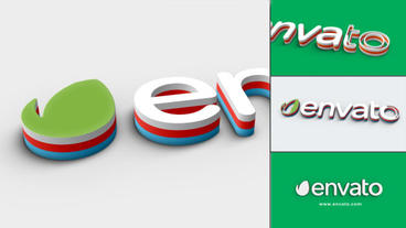 Color Stroke Logo After Effects Projekt