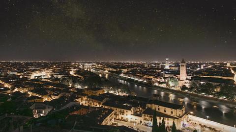 City Night TimeLapse Footage