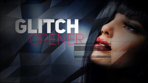 MULTIPURPOSE GLITCH OPENER After Effects Template