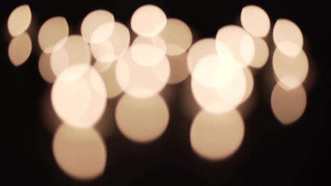 Out of Focus Candle Light Footage