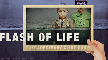 Flash of life slideshow FullHD Apple Motion Template