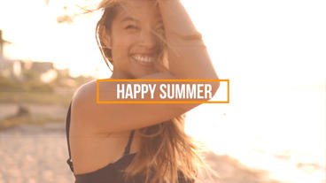 Happy summer slideshow After Effects Template