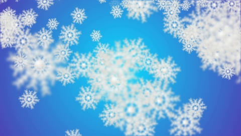 Particular Blue Star Background Animation