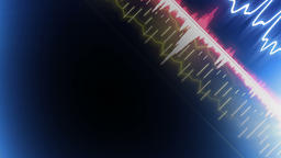 Audio Spectrum Overlay 스톡 비디오 클립, 영상 소스, 스톡 4K 영상