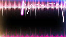 Audio Spectrum CG動画素材