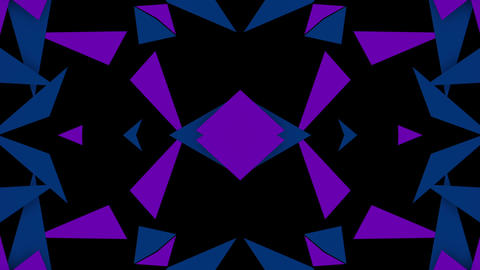 Blink Triangle 02 Vj Loop Animation