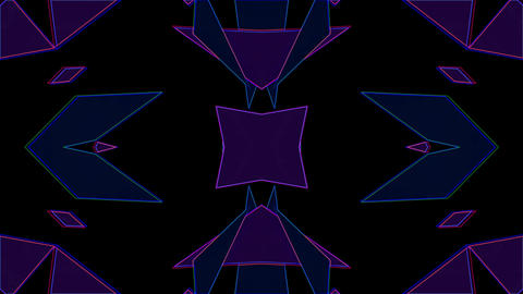 Blink Triangle 04 Vj Loop Animation
