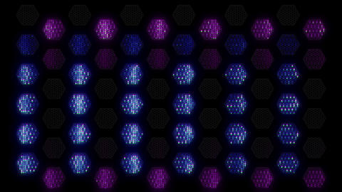 Hex Spot Light 05 Vj Loop Animation