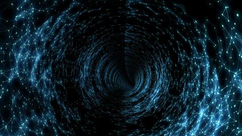 Plato Star Treck Tunnel Vj Loop Animation