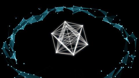 Plexus Pulse 02 Vj Loop Animation