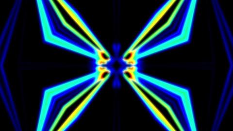 Pulse Beams 7 Vj Loop Animation