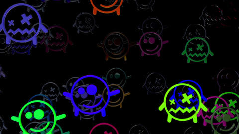 Smiley 01 Vj Loop Animation
