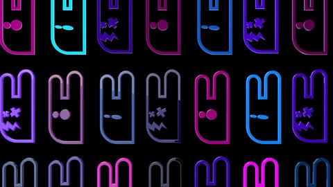 Smiley 06 Vj Loop Animation