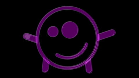 Smiley 08 Vj Loop Animation