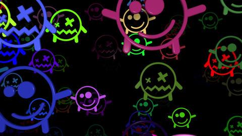 Smiley 05 Vj Loop Animation