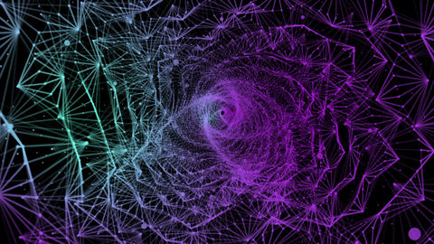 Spiralaxy Abstract Cosmos Vj Loop Animation