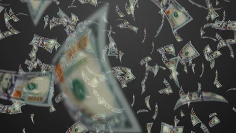 Money rain Animation