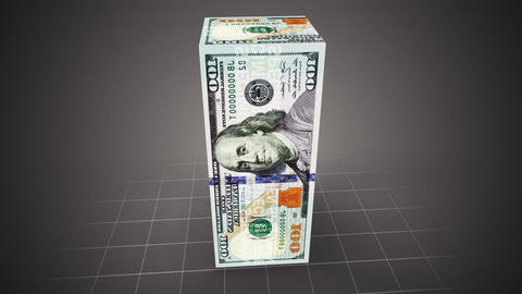 Dollar container Animation