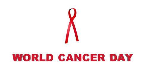 World cancer day Animation