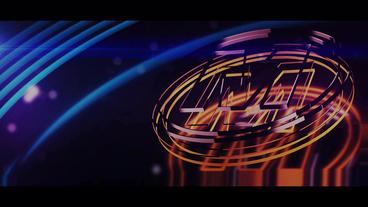 Technology logo Plantilla de After Effects