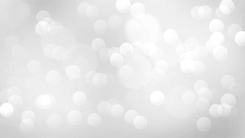Silver magic lights abstract loopable background. Clean and shiny glitter Animation