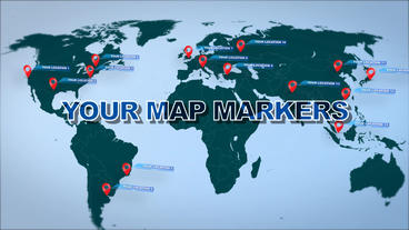 Map Location Infographics -45% 1