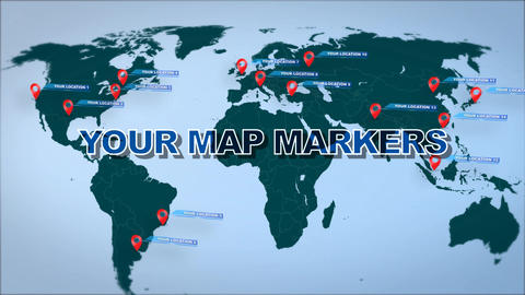 3 Map Location Infographics 1