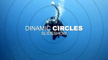 Circles Slideshow After Effects Template