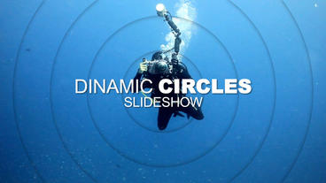Circles Slideshow After Effects Templates