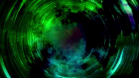 Green Circles Animation