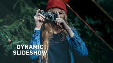 Dynamic Transition Slideshow After Effects Template