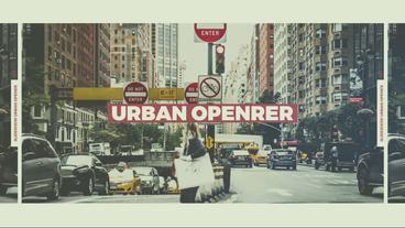 Urban Opener Plantilla de After Effects
