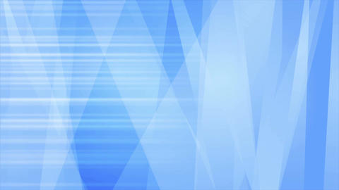 Abstract bright blue stripes video animation Animation