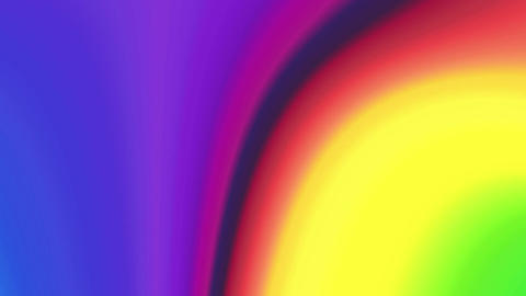 Beautiful color spectrum twirl 4K Animation