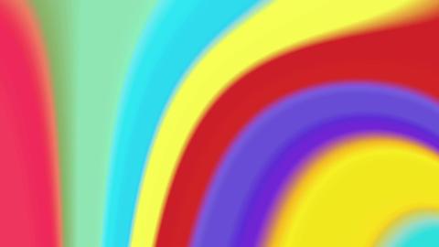 Color twirl 4K Animation