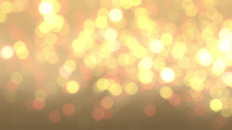 Golden bokeh 02 Animation