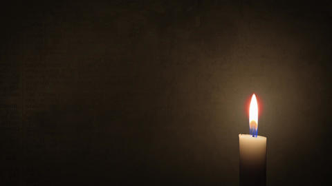 Candle Motion Background (Loopable) CG動画素材