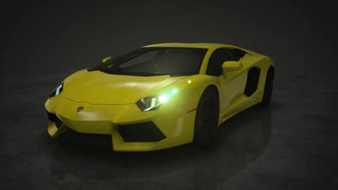 Lamborghini Cars Motion Background