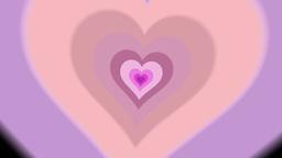Heart Transition 2/Alpha stock footage
