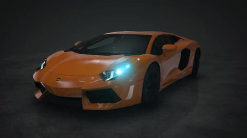 Lamborghini Cars Motion Background 0