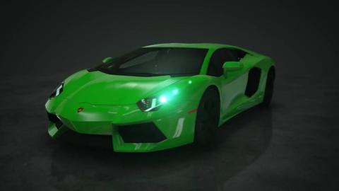 Lamborghini Cars Motion Background 1