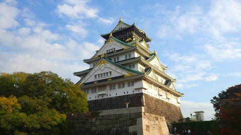 Osaka Castle timelapse ライブ動画